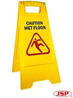 Стойка со знаком Wet Floor (Осторожно! Мокрый пол) SIGN-SLFL