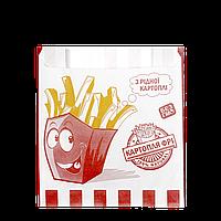"""Пакет бумажный """"Рідна картопля"""" 140*120*50  100шт (250)"""