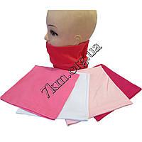 Хомут детский трикотажный для девочек Оптом 7130