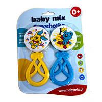 Набор из двух погремушек Baby Mix Польша