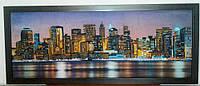 Картина бісером Нічний Нью-Йорк 92 х 35 см