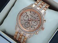 Женские наручные часы Michael Kors в цвете розовое золото, премиум качество, фото 1