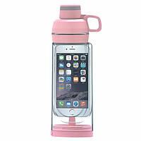 Спортивная бутылка для воды и телефона SO-KID Н-606 400 мл Зеленая