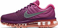 Женские кроссовки Nike Air Max 2017 Bright Grape/White Fire Pink