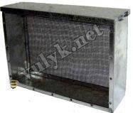 Изолятор для матки сетчатый 2-рамочный Дадан (оцинковка).