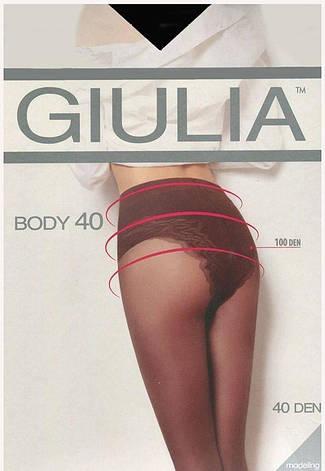Колготки GIULIA BODY 40 2 (S), DAINO (легкий загар), 40, фото 2