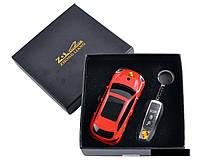 Сувенирная зажигалка + зажигалка-брелок Porsche Cayenne Красный