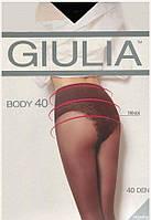 Колготки GIULIA BODY 40 4 (L) 40 FUMO (серый)