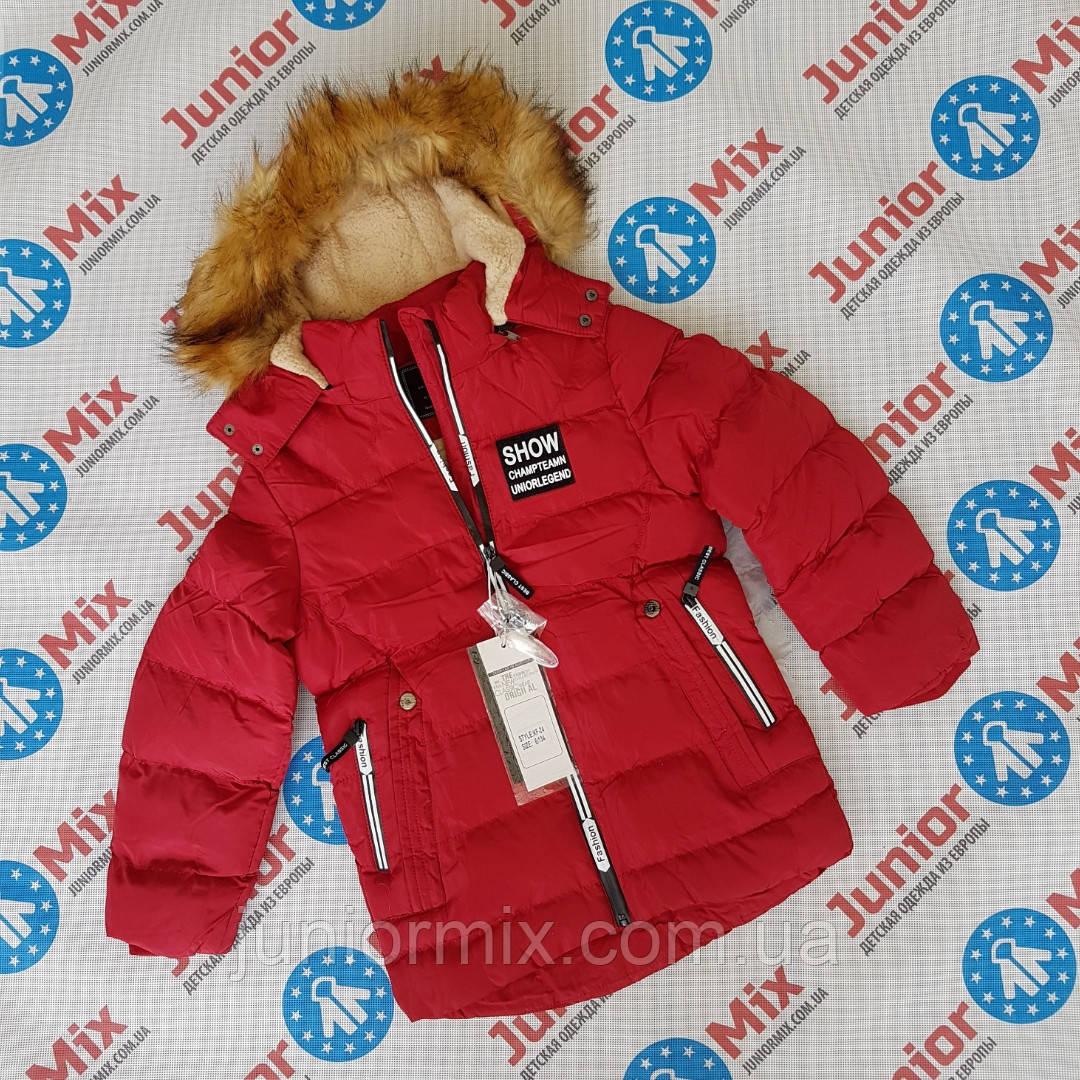 Зимова куртка дитяча для хлопчиків оптом SD