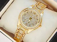 Женские кварцевые наручные часы Michael Kors full diamond