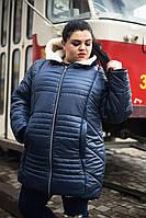 Зимняя куртка для крупных женщин, с 48 по 82 размер , фото 1