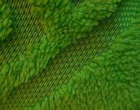 Махровая простыня Версаче 200*220. Зеленая.