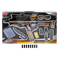 Детский пистолет ХН350   стреляющий водяными шариками, орбиз