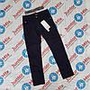 Подростковые котоновые брюки на флисе для мальчиков черного и синегоцвета оптом SEAGULL