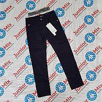 Подростковые котоновые брюки на флисе для мальчиков черного и синегоцвета оптом SEAGULL, фото 1