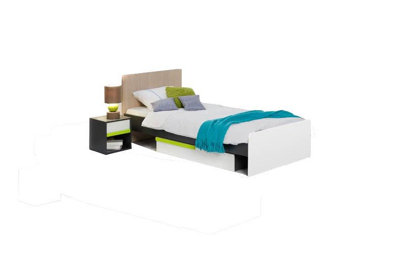 Детская кровать с ящиком ВМВ Холдинг Алекс 90см х 200см