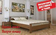 Кровать деревянная Афина из натурального Бука двуспальная, фото 1
