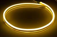Светодиодная LED лента гибкий неон LED NEON FLEX WW тёплая белая 220В 220V