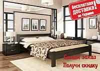 Кровать деревянная Рената из натурального Бука полуторная