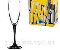 """Набор бокалов для шампанского 170 мл Domino """"H8167"""" Luminarc 6 шт."""