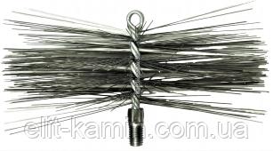 Щетка (ёршик) металлическая для чистки дымохода Ø 175 мм (люкс)