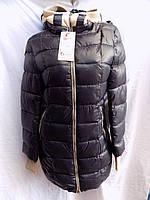 Женская куртка зима с шарфом оптом , фото 1