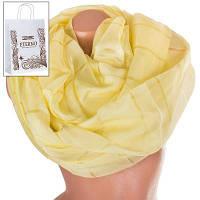 Женский шифоновый шарф 195 на 140 см eterno (ЭТЕРНО) es1908-7-6