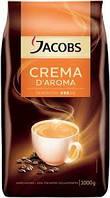 Кофе в зернах Jacobs Crema D'aroma 1кг (Нидерланды)