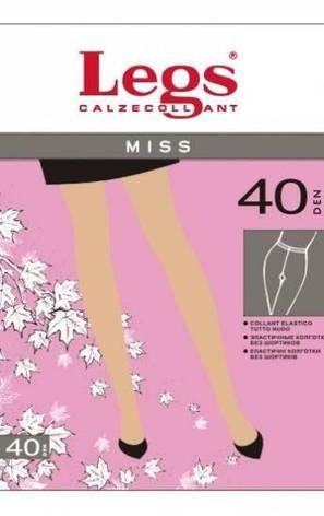 Колготки LEGS MISS 40 3 (M), 40, GRIGIO(серый), фото 2
