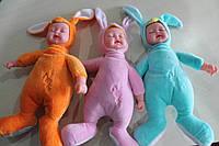 Куклы пупсы аналог Анне Геддес Anne Geddes 25см. Зайчики