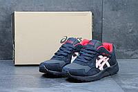 Чоловічі  кросівки Asics Gel Lyte 5 сині з червоним