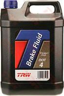Жидкость торм. DOT4  5,0L (пр-во TRW)PFB405