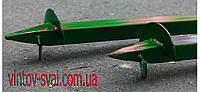 Винтовой столб 60 х 60 мм. 5000 мм