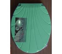 Крышка для унитаза зелёная