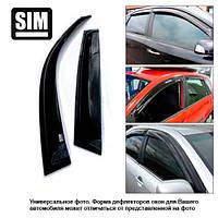 Ветровики (дефлектора окон) BMW X5 2000-2006 (E53)