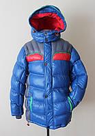 Детская зимняя куртка для мальчика двойной синтепон, фото 1