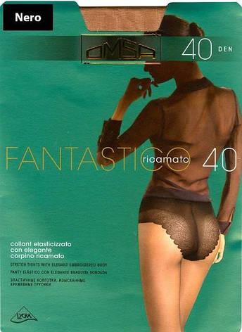 Колготки OMSA fantastico 40  2 (S), 40, CARAMELLO (телесный светлый), фото 2