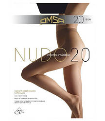 Колготки OMSA nudo 20 2 (S), DAINO (легкий загар), 20