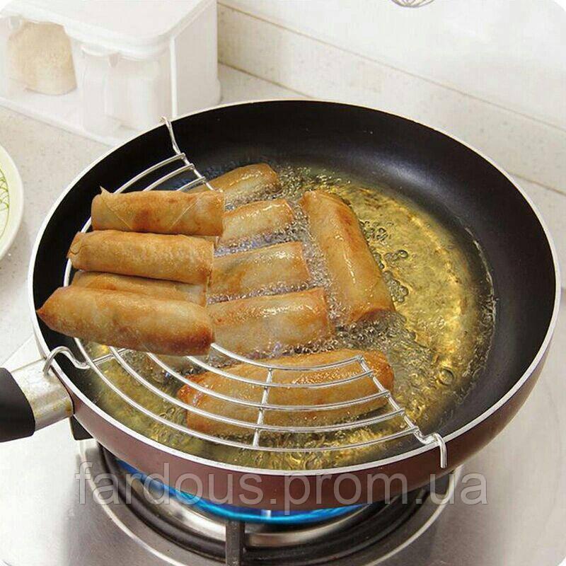 "Решетка для сковороды ""без жира"", без СВЧ, d-26см - «Fardous» в Днепре"