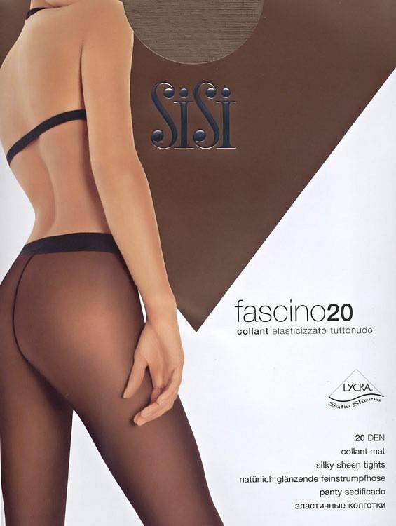 Колготки SISI FASCINO 20 1 (XS), NERO (черный), 20