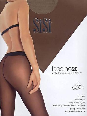 Колготки SISI FASCINO 20 1 (XS), NERO (черный), 20, фото 2
