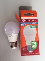 Лампа світлодіодна ELECTRUM A50 6W PA LD - 7 Е27 4000 A-LD-0438