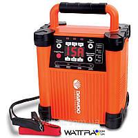 Интеллектуальное зарядное устройство Daewoo DW 1500 (Выходное напряжение 6/12/24 В, емкость аккумулятора 20-300 А•ч. режимы зарядки: