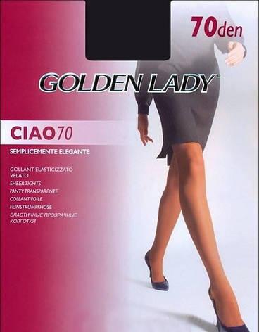 Колготки GOLDEN LADY CIAO 70 2 (S), DAINO (легкий загар), 70, фото 2