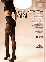 Колготки SISI ACTIVITY 50 2 (S), NERO (черный), 50