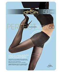Колготки OMSA perfect body 50 2 (S), FUMO (серый), 50