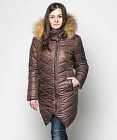 Зимняя куртка женская плащевка на синтепоне Letta