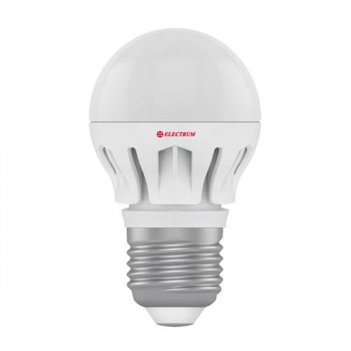 0308-A-LB LED лампа ELM D45 6W Е27 4000K шар