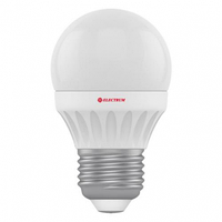 0433-A-LB LED лампа ELM D45 7W Е27 2700K шар