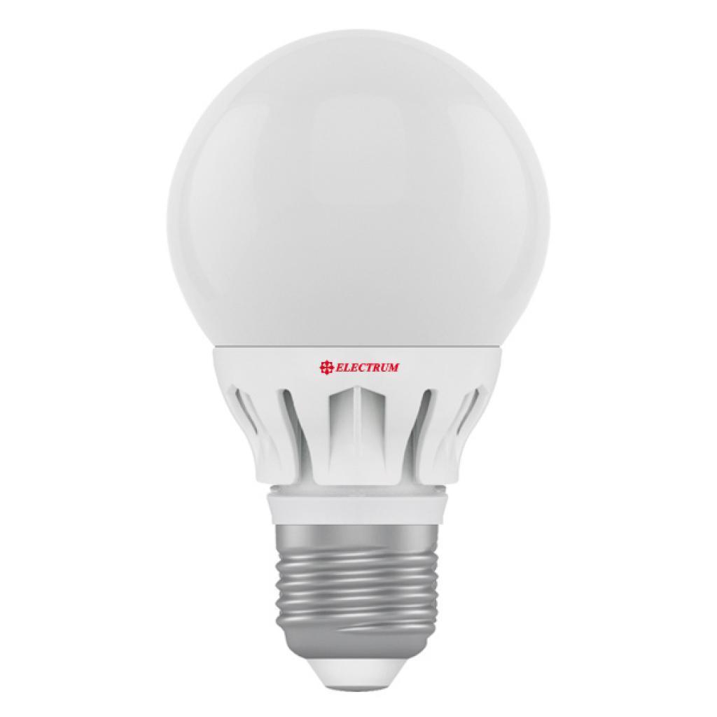 0557-A-LG LED лампа ELM А60 6W Е27 4000K